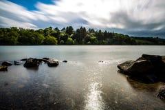 Castlewellan sjö Arkivbild