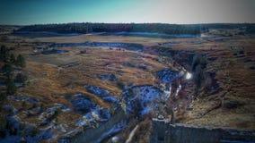 Castlewood峡谷 免版税库存照片