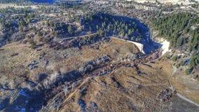 Castlewood峡谷 免版税库存图片