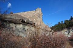 Castlewood Canyon Dam Stock Image