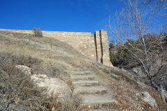 Castlewood Canyon Dam Royalty Free Stock Images