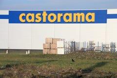 Castorama Photographie stock libre de droits