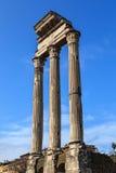 castorpollux tempel Royaltyfria Bilder