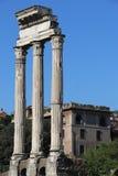 castorpollux tempel arkivfoto