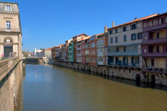 Castres. View on the river of Castres, France Stock Image