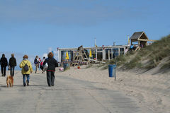 Castricum aan Zee Royalty Free Stock Photos