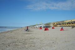 Castricum Zee aan Foto de Stock Royalty Free