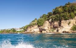 Castries - παραλία Λα Toc - Αγία Λουκία Στοκ Εικόνες
