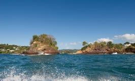 Castries - banco de areia de Tapion - St Lucia Fotografia de Stock Royalty Free