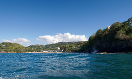 Castries - La Toc beach - Saint Lucia. Tropical island of the Caribbean Stock Photography