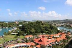 Castries marina, St Lucia Stock Photography