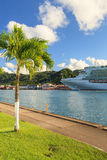 Castries Waterfront Stock Image