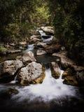 Castril rzeka, Granada Obrazy Royalty Free