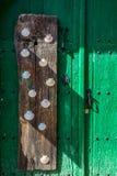 Castrillo De Los Polvazares wiosk? jest lokalizuj?cym w Leon, w P??nocnych zachodach Hiszpania Ja jest jeden few miejsca Maragate obrazy stock