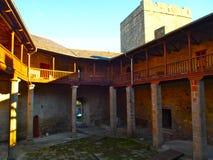 Castro Caldelas Castle Stockfotos