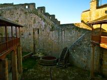 Castro Caldelas Castle Lizenzfreie Stockfotos