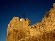 Castro Caldelas Castle Stockfotografie
