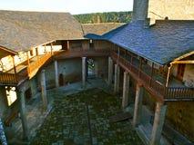 Castro Caldelas Castle Stockfoto