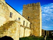 Castro Caldelas Castle Lizenzfreies Stockbild