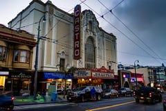 Castro Cinema en San Francisco California United States de Ameri Fotos de archivo libres de regalías