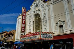 Castro Cinema in San Francisco California United States van Ameri Stock Foto