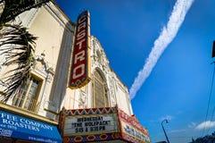 Castro Cinema Theater en San Francisco California United States imagen de archivo libre de regalías