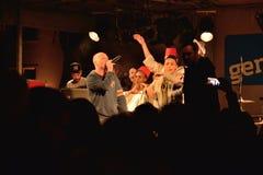 Castro et fatih dans la représentation à Gand Photographie stock libre de droits