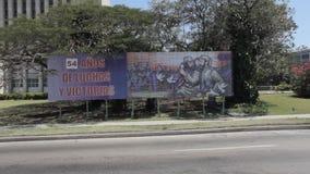 Castro in Havana stock footage