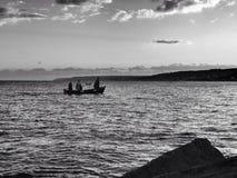Castro Jachthafen lizenzfreies stockfoto