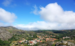 Castro Laboreiro Dorf. Stockfotografie
