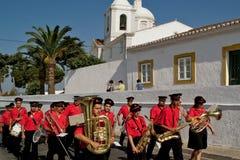 CASTRO MARIM, PORTUGALIA, urok piękna wioska Obrazy Royalty Free