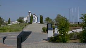 Castro Marim Village en Portugal almacen de video