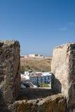 castro miasta marim stary Portugal widok Obrazy Stock