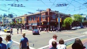 Castro Street immagine stock