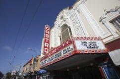Castro Theatre, San Francisco stockfotos