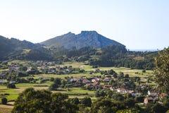 Castro Urdiales Area Landscapes Image libre de droits