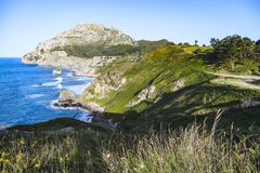 Castro Urdiales Area Landscapes Royalty Free Stock Photo