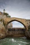 Castro Urdiales Bridge Royalty Free Stock Image
