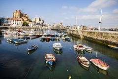 Castro Urdiales, Cantabria, Spain royalty free stock images