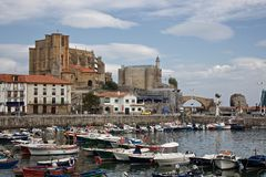 Castro Urdiales Lighthouse Royalty Free Stock Image
