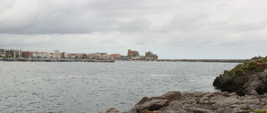 Castro Urdiales.Pan Royalty Free Stock Images