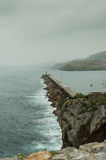Castro Urdiales' Pier Stock Photography