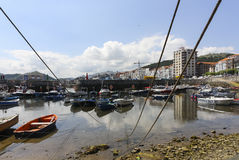 Castro Urdiales Royalty Free Stock Images
