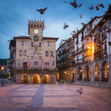Castro Urdiales, Spagna Fotografia Stock