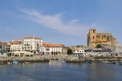 Castro Urdiales town, Spain Stock Photography