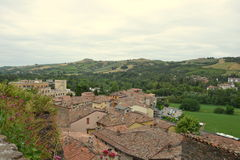 Castrocaro Terme Royalty Free Stock Photo