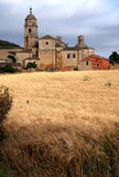 Castrojeriz. Church in Castrojeriz in the northern Spain Stock Photography