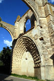 Castrojeriz ruins of St. Antony s Convent. Ruins of St. Antony s Convent in Castrojeriz in northern Spain Stock Images