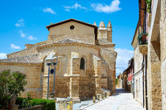 Castrojeriz in the way of Saint James at Castilla Royalty Free Stock Image