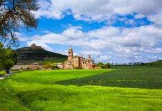 Castrojeriz in the way of Saint James at Castilla Stock Photo